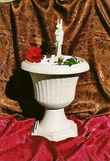 Dekorační fontána s egyptskou sochou Anubise LAMI-DEKOR