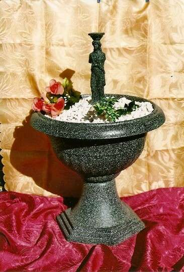 Dekorační fontána s řeckou sochou Karyatis LAMI-DEKOR