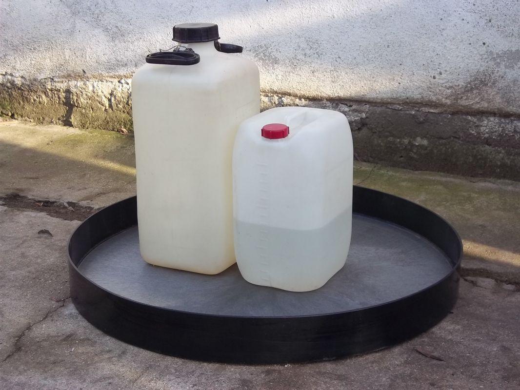 Záchytné vany - kruhové Lamiplastik