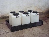 Záchytné vany - hranaté Lamiplastik