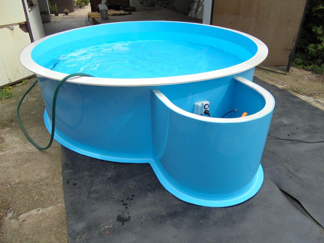 Bazén - kruhový - nadzemní LAMIPLASTIK