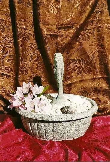 Dekorační fontána s egyptskou sochou Achnatona LAMI-DEKOR