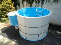 Oválný bazén - do zemně LAMIPLASTIK