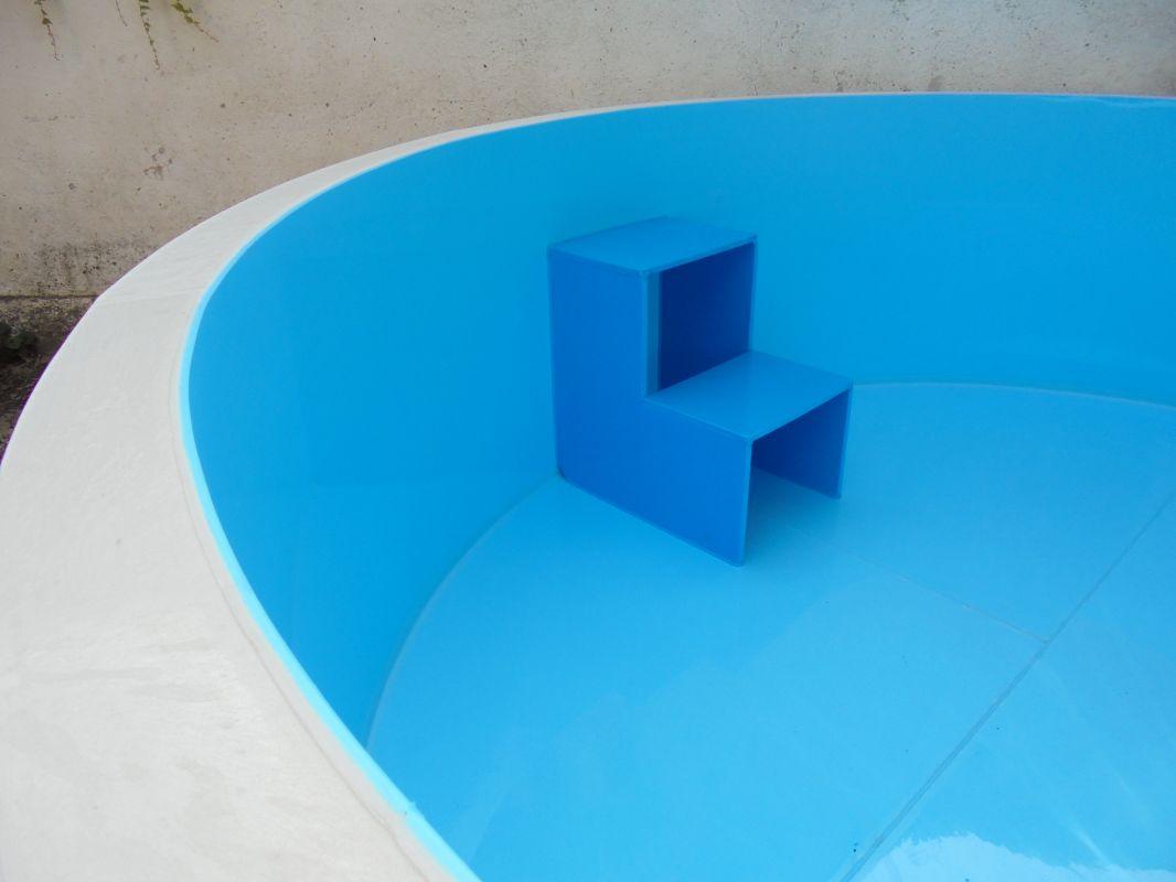 Plastové schodiště LAMIPLASTIK