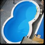 Bazén - osmička - nadzemní LAMIPLASTIK