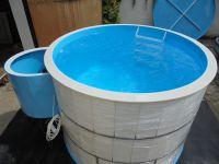 Kruhový bazén - do zemně LAMIPLASTIK