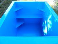 Ochlazovací kád - bazének - do sauny LAMIPLASTIK
